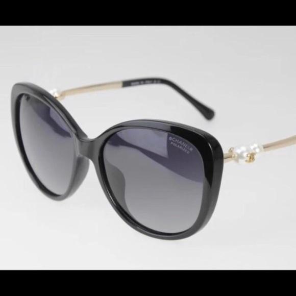 18638cbe2284 CHANEL Accessories | Nwt Pearl Collection Sunglassesboxcase | Poshmark